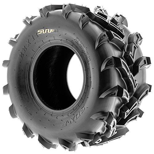 SunF ATV UTV Mud & All Terrain Tires 22x11-9 22x11x9 6 PR A024 (Set pair of 2) by SunF (Image #4)