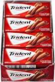 Trident Sugar-Free Gum, Cinnamon, 18 Count (Pack of 12)