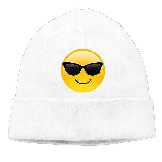 3438c9cf733 Amazon.com  Ghhpws Sunglasses Emoji Beanie Wool Hats Knit Skull Caps ...