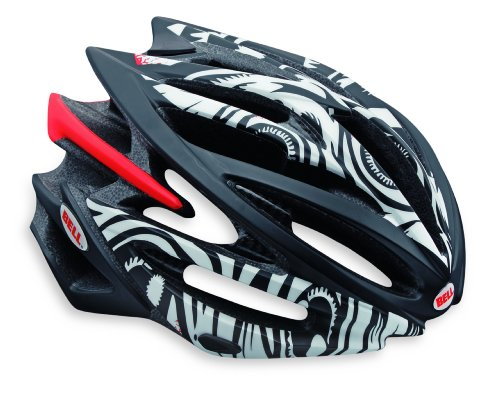 "Bell Volt Racing Bicycle Helmet Matte White/Black Jimbo Phillips Eyeballs Large (59 - 63cm / 23.25 - 24.75"")"