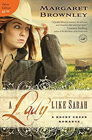 book cover of A Lady Like Sarah