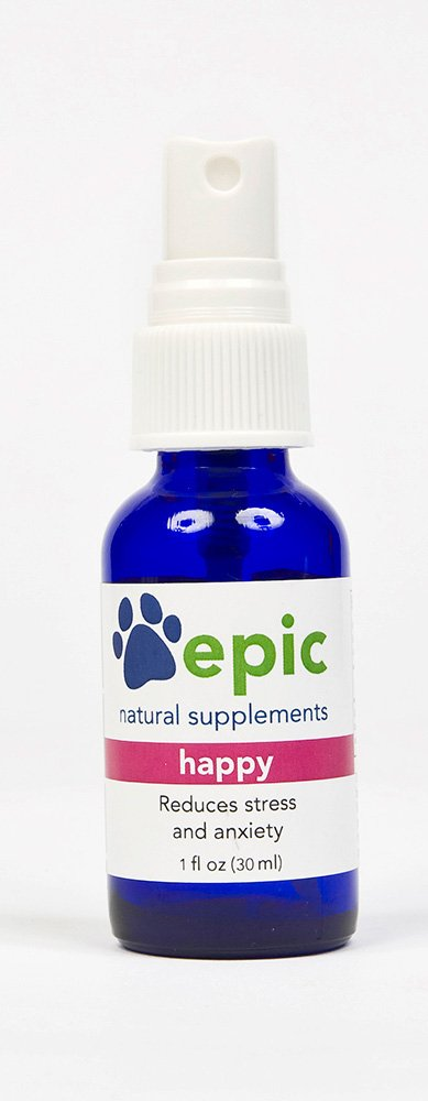 Epic Pet Health Happy - Reduce Stress and Anxiety Naturally (Spray, 1 ounce)