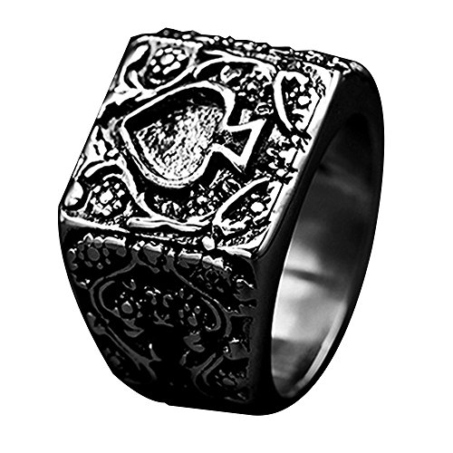 ace of spades ring - 4