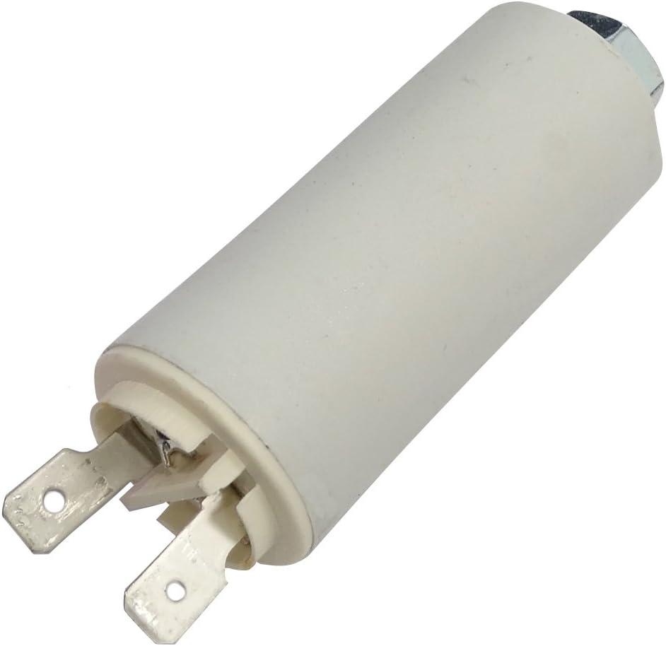 Condensateur Permanent de Travail pour Moteur 5/µF 420V avec cosses /Ø25x56,5mm /±5/% 10000h C18650 AERZETIX