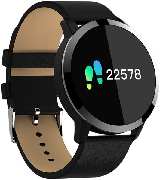 KuWFi Smart Pulsera, 0,95 cm OLED IP67 Impermeable Actividad Tracker Apoyo Heart Rate Monitor Bluetooth Reloj Inteligente para Apple Huawei iOS Android teléfono