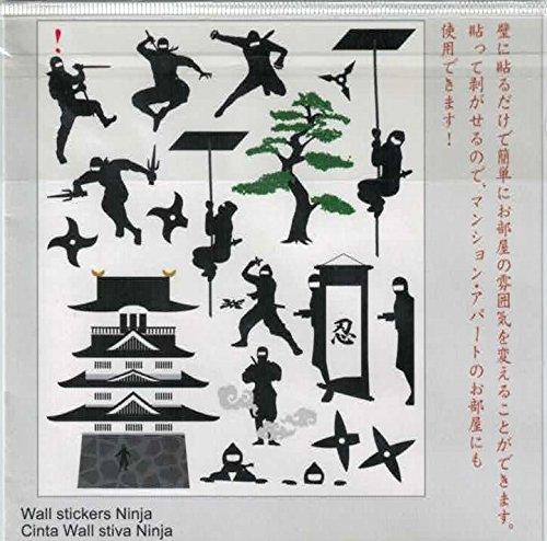 ウォールステッカー忍者-Wall stickers Ninja- - - Amazon.com