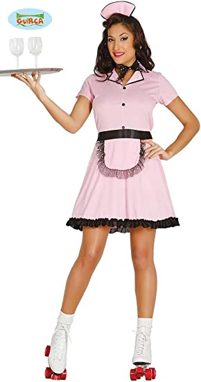 Womens Ladies Pink Big Baby Girl Fancy Dress Costume Hen Do Outfit Adult