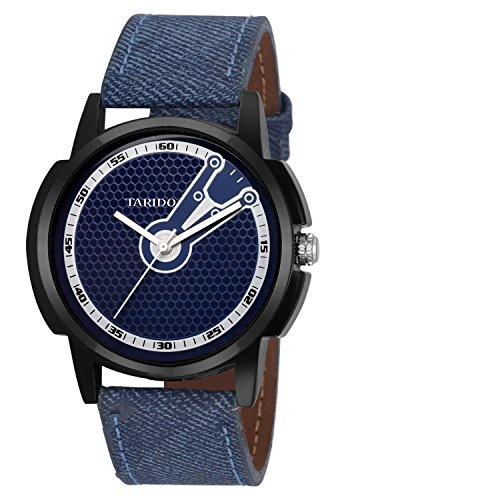 Tarido New Style Blue Dial Analog Watch for Men