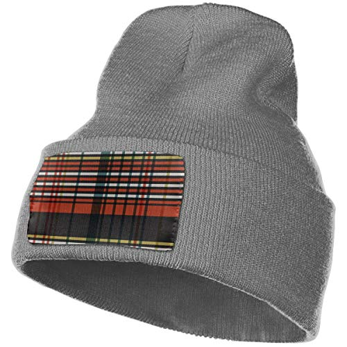 CUTEDWARF Rich Cotton Beanie Caps Warm Soft Hats Cable Check Stripe Knit Skull Caps
