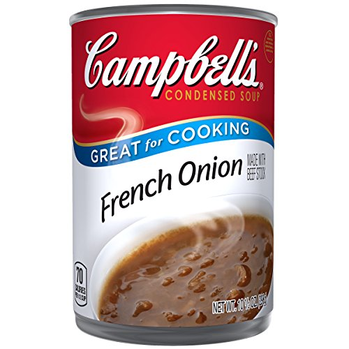 French Soup - Campbell's Condensed Soup, French Onion, 10.5 Ounce (Pack of 12)