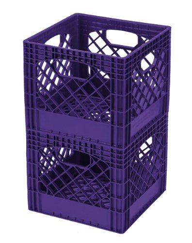 Buddeez MC01016P268C Crates 16 Quart Purple