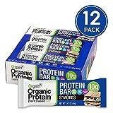 Orgain Organic Plant Based Protein Bar, S'Mores - Vegan, Gluten Free, Non Dairy, Soy Free, Lactose Free, Kosher,...