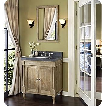 Fairmont designs 142 v30 rustic chic 30 inch vanity in weathered oak bathroom vanities Fairmont designs bathroom vanity cottage