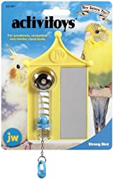 JW Pet Company Activitoy Strong Bird Small Bird Toy, Colors Vary