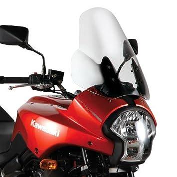 Motorrad Windschutzscheibe Kawasaki Versys 650 06-09 Givi Spoiler transparent