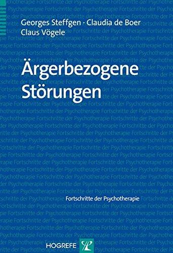 Ärgerbezogene Störungen (Fortschritte der Psychotherapie)