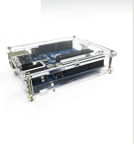 WKELECTRONDE-Caja Transparente de acrílico Transparente de la Caja ...