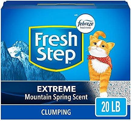 FRESH STEP CAT LITTER 261347 Fresh Step Extreme Odor Solution Scoop Litter Boxes