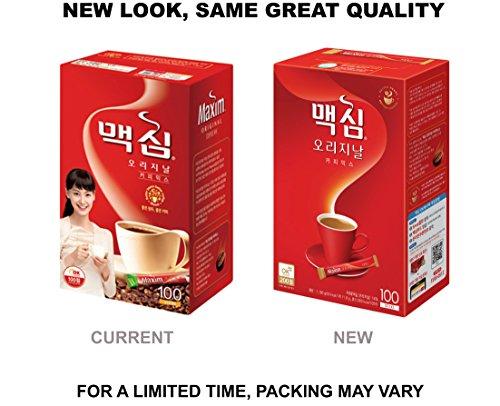Maxim Original Korean Coffee - 100pks by Maxim (Image #2)