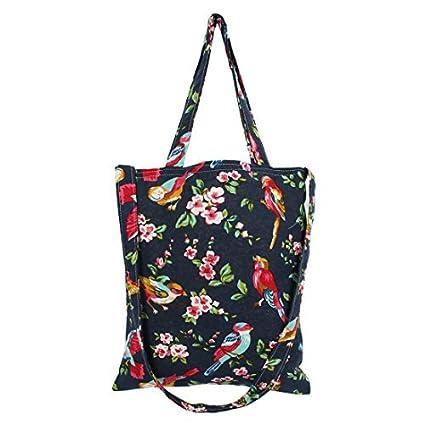 Amazon.com: Padrão DealMux Algodão Linho Flower Lady Compras ...