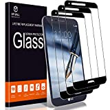 [3-Pack] MP-MALL Screen Protector for LG Stylo 3 Plus, [Tempered Glass][Full Cover] with Lifetime Replacement Warranty