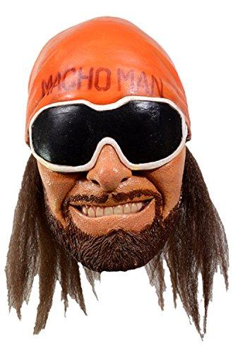 Trick Or Treat Studios Adult WWE Macho Man Randy Savage Mask Standard by Trick Or Treat Studios
