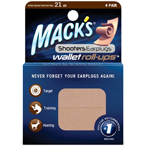 Macks Shooters Earplugs Wallet Roll ups product image