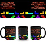 columbian senseo pods - If I Try To Fit In I will Disappear Tetris Fan Coffee Mug Ceramic Cup 15 oz