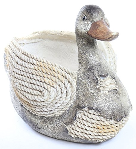 Alpine Corporation Duck Rope Planter