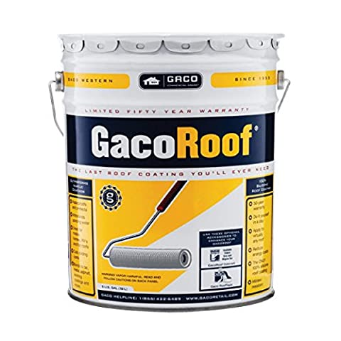 GACOROOF WHITE SILICONE ROOF COATING LOW-VOC - Low Voc Polyurethane