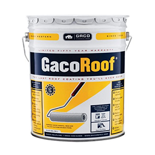 GACOROOF WHITE SILICONE ROOF COATING LOW-VOC (Coating Silicone)