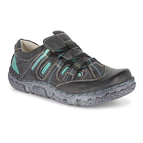 Zapatos Mujer Zapatos Informales / 650 Negro/Turquesa