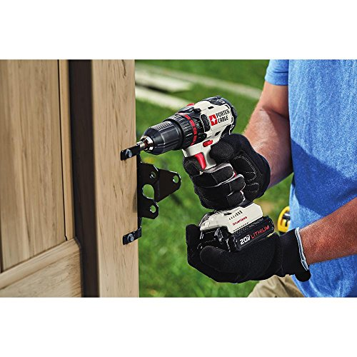 PORTER-CABLE 20V MAX Cordless Drill/Driver, Brushless, Tool Only (PCC608LB)