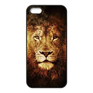 Diy Case for iPhone 5,5S ,Lion Customized case Fashion Style UN833977