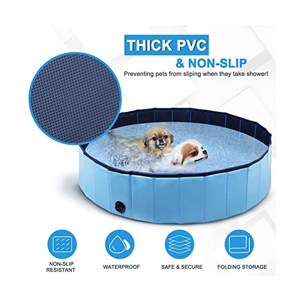 Winipet Foldable Dog Paddling Pool 5