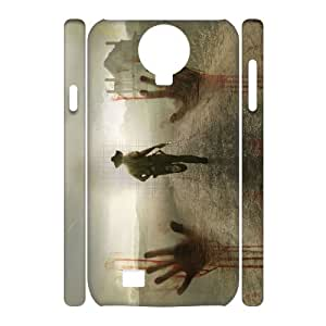 D-PAFD Cell phone Cases The Walking Dead Hard 3D Case For Samsung Galaxy S4 i9500