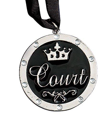 (Shindigz Court Medallion Silver)