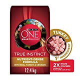 Purina ONE Smartblend True Instinct Natural Dry Dog Food, Turkey & Venison 12.4 kg
