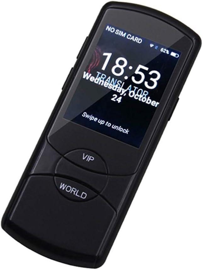 音声翻訳装置、スマート言語音声2.8インチのタッチスクリーン42言語のWiFi電子翻訳学習旅行・ショッピング・ブラック