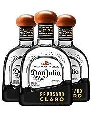 Tequila Don Julio Reposado Claro 700ML (Paquete de 3 botellas)