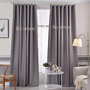 Vorhänge Mode - Mulden, Star - Vorhang Tuch, Schlafzimmer ...