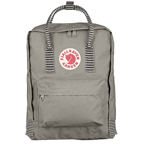 Fjallraven - Kanken Classic Pack, Heritage and Responsibility Since 1960, Fog-Striped