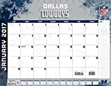 "Turner Licensing Sport 2017 Dallas Cowboys Desk Pad Calendar, 22""X17"" (17998061534)"