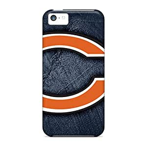 Best Hard Phone Cover For Iphone 5c (aYY7286EqLg) Provide Private Custom Trendy Chicago Bears Pattern