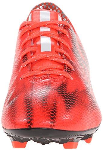 Adidas Prestanda Mens F10 Fast Malet Fotboll Cleat Sol Röd / Vit / Core Svart