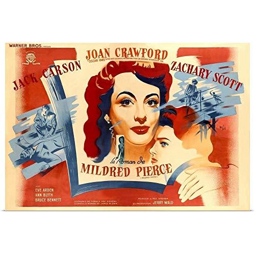Mildred Pierce Poster - GREATBIGCANVAS Poster Print Entitled Mildred Pierce, Joan Crawford, Ann Blyth, 1945 by 18