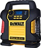 portable air compressor charger - DEWALT DXAEJ14 Jump Starter: 1400 Peak/700 Instant Amps, 120 PSI Digital Air Compressor