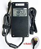 New Replacement 330W 19.5V 16.9A Power AC Adapter Power Supply ADP-330AB B for 330W Clevo P370SM-A, P775DM3, MSI GT83VR GT73VR GT80, Asus ROG GX700VO-GC011T Computer 330w Power Supply 4 Holes