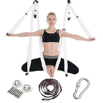HEEGNPD 2,5 * 1,5 m antigravedad Columpio Hamaca Yoga del ...
