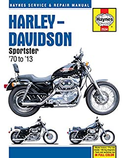 Amazon clymer harley davidson xlxlh sportster 1986 2003 harley davidson sportster 70 to 13 haynes service repair manual fandeluxe Choice Image